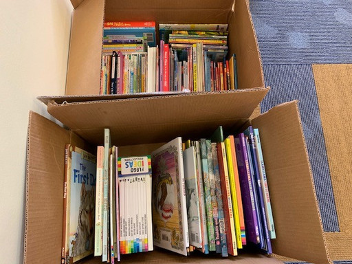 Book Drive collects 809 books for Bright Star Books