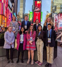 Students Shine at Montessori Model United Nations